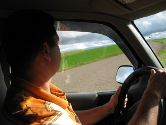 This undocumented immigrant, who works at a dairy farm in Western Wisconsin, isn't able to obtain a driver's license. He was cited for that infraction in September after another driver backed into his parked vehicle at in a grocery-store parking lot. The worker and his family were profiled Nov. 11 in the Dairyland Diversity journalism project. (https://wisconsinwatch.org/?p=2105)