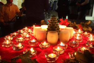 Hope Lutheran Church in Milton hosted a tree lighting ceremony in early December attended by about 30 families in remembrance of loved ones lost to suicide. WCIJ/JOSEPH W. JACKSON III