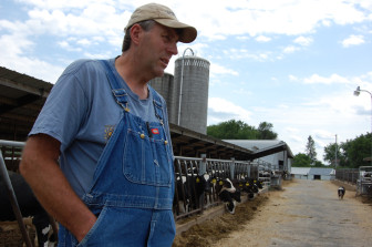 John Rosenow began employing immigrant workers on his dairy after expanding his farm in 1997. On average, Wisconsin dairy farmers hired their first immigrant worker in 2000.