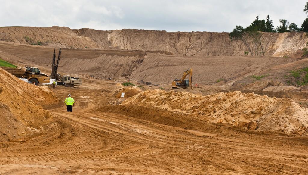 Sand Mine Site