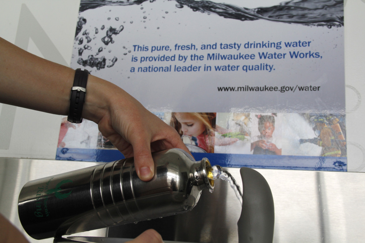 Two decades since a parasite in Milwaukee drinking water killed 69 people and sickened 400,000, the city has become a national leader in testing for unregulated contaminants. Kate Golden/Wisconsin Center for Investigative Journalism