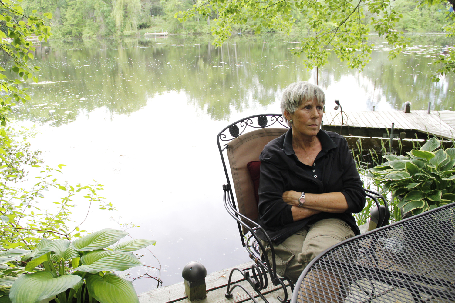"Plover resident Barb Gifford lives along the Little Plover River and started the Friends of the Little Plover group in 2005, when sections of the river first dried up. ""€œYou can't live on a body of water every day and not know when something was wrong,""€ she says."