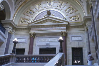 Wisconsin Supreme Court justices tend to rule in favor of clients whose attorneys contribute to the justices' election campaigns.