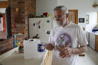 "Lincoln resident Mick Sagrillo wasn't drinking his well water anyway when he learned that it had ""the honor"" of being the county's most estrogenic, in a research study. Sagrillo's well water has had high nitrates or bacteria for more than a decade; this spring, for the first time, a test found the fecal bacteria E. coli."