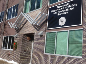 The Wisconsin Department of Safety and Professional Services, headquartered in Madison, oversees state rules regarding building safety.