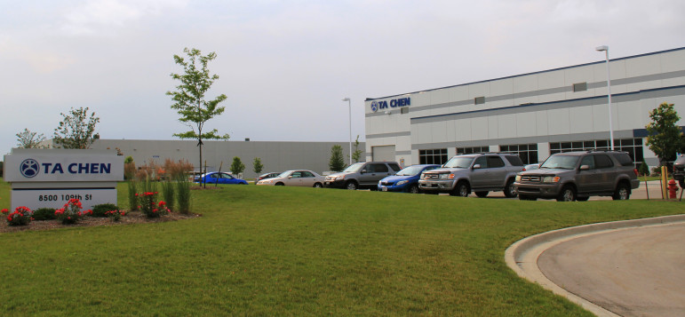 Ta Chen International, a Long Beach, California-based metal distribution company, moved to Pleasant Prairie in 2014. Wisconsin Economic Development Corp. awarded Ta Chen up to $1 million in tax credits in 2013. The company has created 67 of the promised 72 jobs.