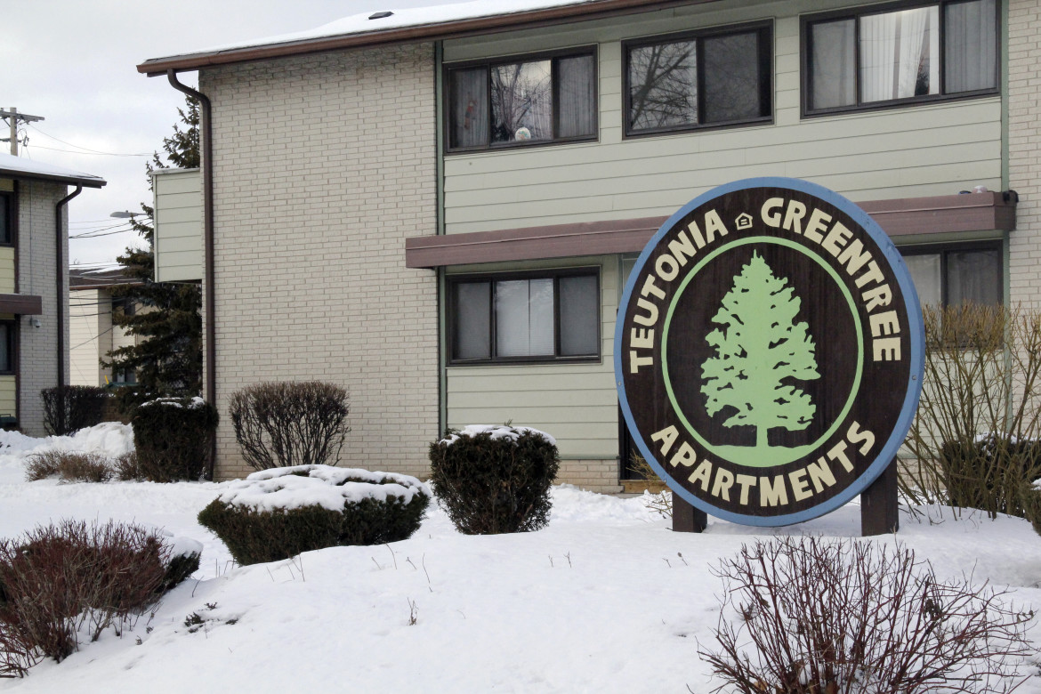 The adjoined Greentree and Teutonia apartment complexes are two of six low-income properties run by Carmen Porco, an executive in Housing Ministries of American Baptists, across Milwaukee and Madison. The learning center on site provides educational opportunities, social services and even jobs for some residents.
