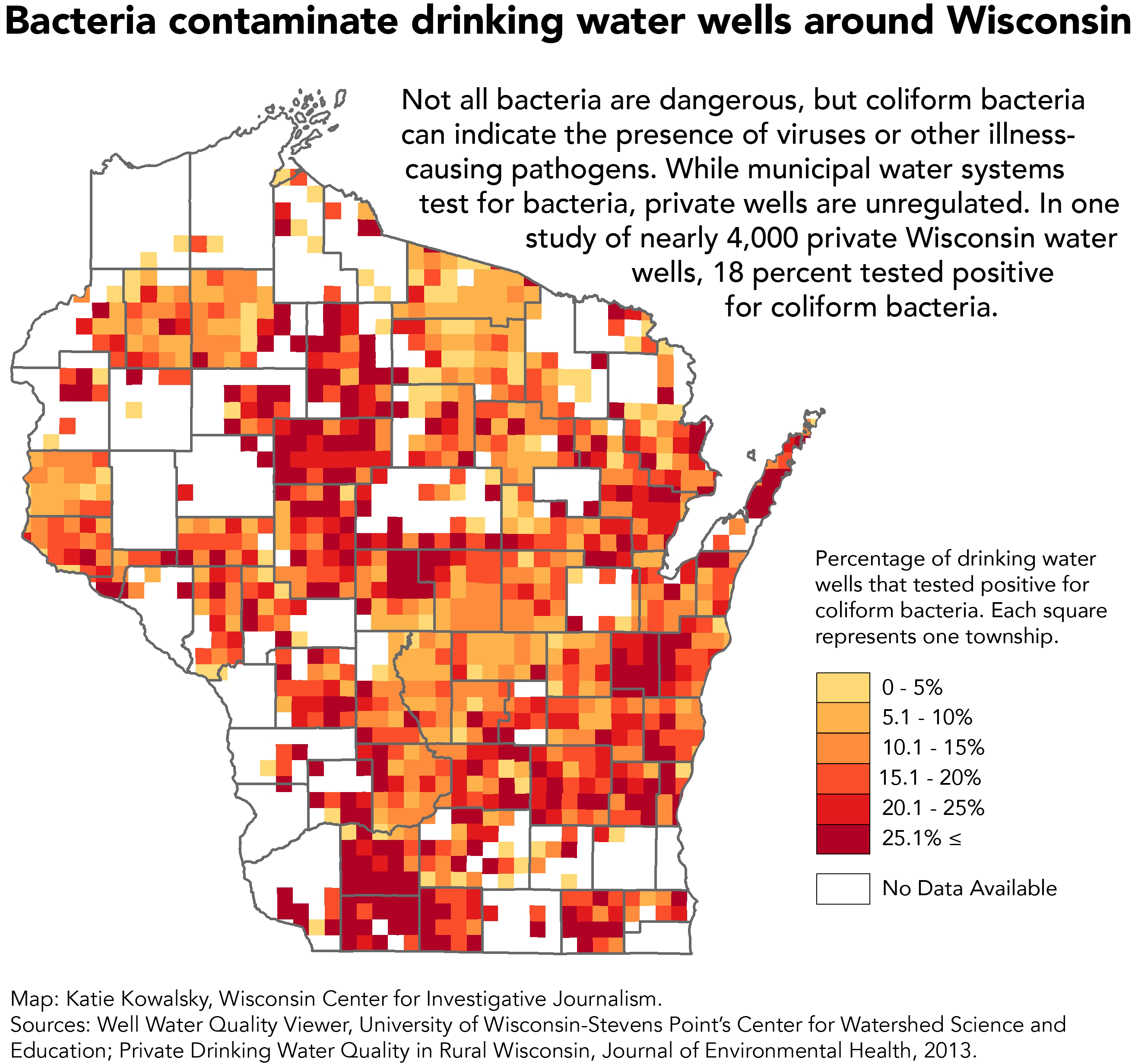 Bacteria in state's drinking water is 'public health crisis ... on map of racine wi, map of menomonie wi, map of apostle islands wi, map of algoma wi, map of black river falls wi, map of jacksonport wi, map of green bay wi, map of washington island wi, map of city of madison wi, map of castle rock lake wi, map of liberty grove wi, map of ohio by county, map of baileys harbor wi, map of lakewood wi, map of the fox valley wi, map of beloit wi, map of wisconsin, map of peninsula state park wi, map of de soto wi,