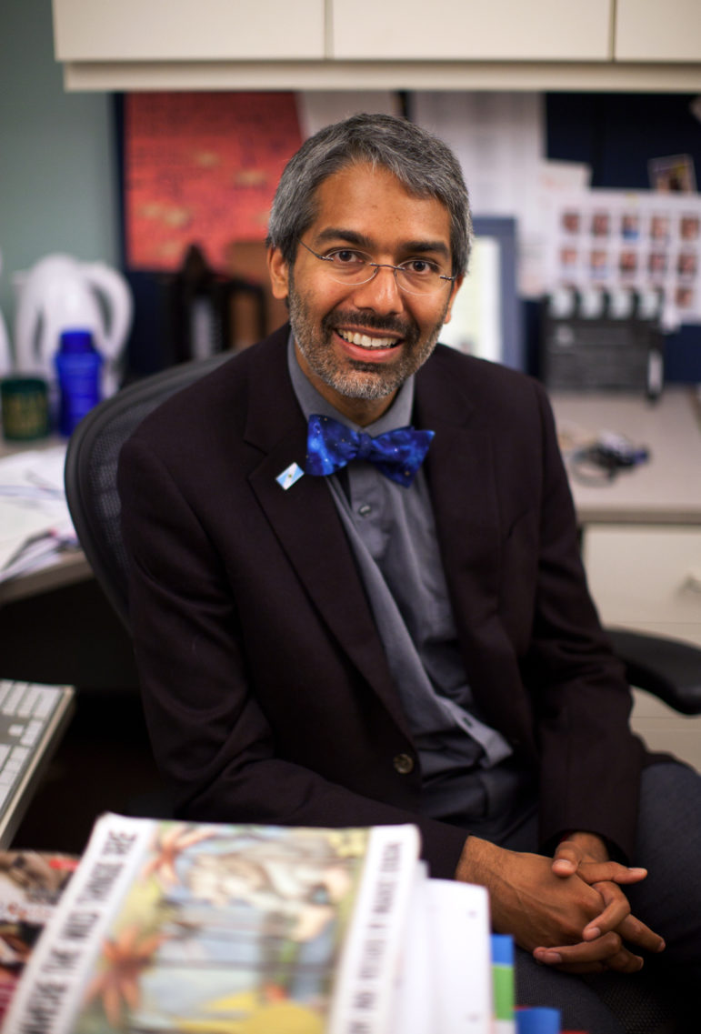 Dr. Dipesh Navsaria, associate professor of pediatrics at the University of Wisconsin-Madison, is the medical director of the Wisconsin branch of the national Reach Out and Read program.