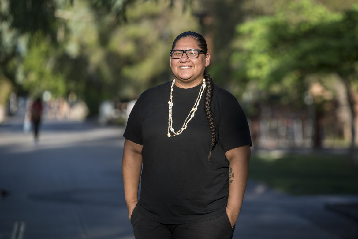 Mikah Carlos studies at Arizona State University and lives in the Salt River Pima-Maricopa Indian Community. She says a poll worker refused to let her use her tribal ID to vote in a recent election in Arizona. Across the country, many states including Wisconsin have passed dozens of new requirements since 2012, including presenting an identification card, to vote in the upcoming Nov. 8 election.