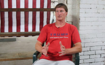 "Blair Adams, a third generation owner of K-Castings, Inc. in Ligonier, Penn., said many people in his area support Republican presidential candidate Donald Trump because the current government does not ""see the people actually how they live and how they're struggling."""