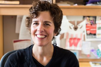 """University of Wisconsin-Madison professor Kathy Cramer, traveled Wisconsin to research her book, """"The Politics of Resentment: Rural Consciousness in Wisconsin and the Rise of Scott Walker."""" She found rural residents, most of them white, were disillusioned with government and looking for a change."""