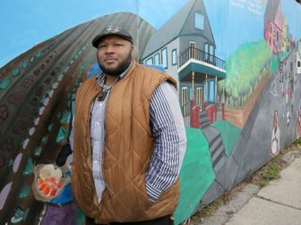 Terron Edwards serves as one of the Peace Project facilitators at Walnut Way.